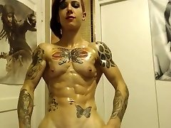 Outstanding ripped gal nirvana
