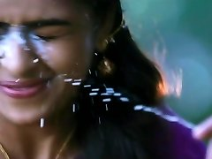 cum on sri divya face anew and anew tamil actress