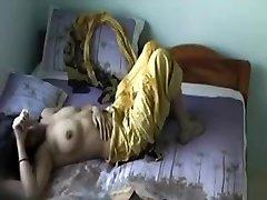Yellow Salwar Gf Missing Stripping Part