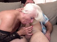 Mom and granny receive screwed in their mature holes