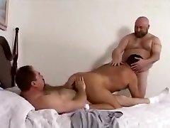 Crazy male in fabulous bareback, bears homo porn episode