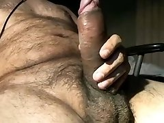 Hot lascivious big uncut dick latino bear