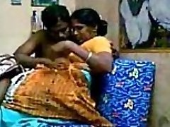 Aunty with her devor, together luving Getting Fucked After Heavy Mounds Sucking - Wowmoyback
