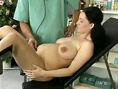 pregnant wifey study and fucked by the doctor
