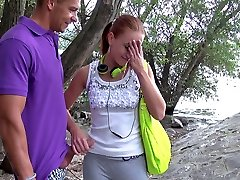 Minnie Manga in Recruiting a Jaw-dropping Euro Dame - PublicPickups