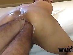 Double anal fisting extreme amateur Latina