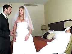 Alanah get plumbed on her wedding night