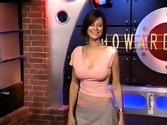 Catherine Bell on Howard Stern Display