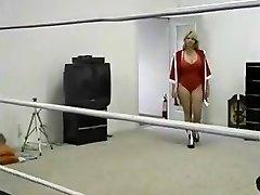 Gordinha Milf Anel De Wrestling