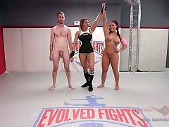 Combined Wrestling with Cream pie Prize ending Wrestlers fuck