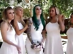 Bridal Party Orgy Gonzo