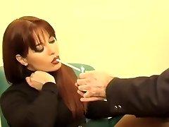 Horny homemade Foot Fetish, Smoking sex clip