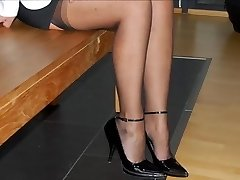 Feet & High-heeled Shoes OF MY PROSTITUTE WIFE -- mdm