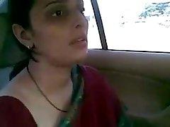Indian palace wife car mms