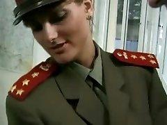 KGB Military Chick Fucks Recruit ...F70