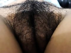 Amateur hairy labia webcam