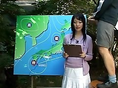 Name of Japanese JAV Nymph News Anchor?