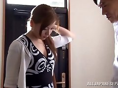 Exceptional Asian milf Ren Mukai enjoys pose 69