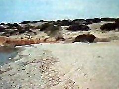 Greek Couple Fucks Hard on the Beach