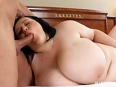 Breasty Teen BBW Catches Teacher Sunbathing in the Nude