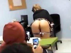 Teen Displaying In Classroom
