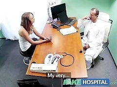 FakeHospital Medic gives sex support to patient