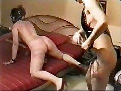 My slut biotch whipped hard by a mistress