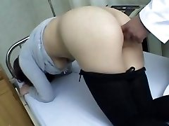 asian doctor and asian rear entrance