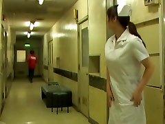 Nurse gets her white pantyhose unsheathed while sharking