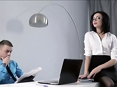 Petite Secretary fucked at the office