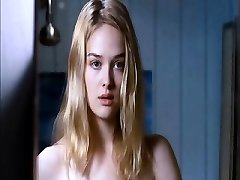 Jess Weixler naked lounging on her back as a boy squeezes and