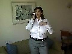 Crazy homemade Brunette, Big Jugs sex clip