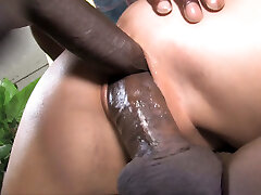Ally Style Anal And Double Penetration With Ebony Dick