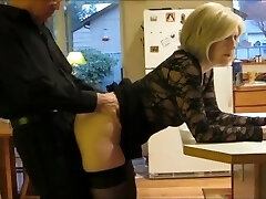 I pulverize my mature STEPMOM in the ass every morning