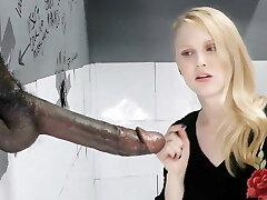 Lily Rader Inhales And Fucks Immense Black Dick - Gloryhole