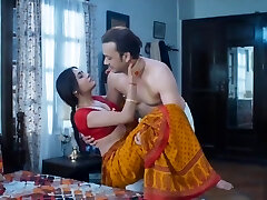 Wife homemade bang-out very hot red saree full romance boink mastram web series