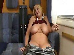 Swedish blonde big tits