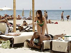 Hispaania brünett valge tüdruk must armastaja - Softcore Interracial