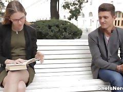 İngilizce çalışmaları ile İnek kız - seks Karıştırma