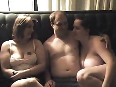 BBW Amatöör Threesome