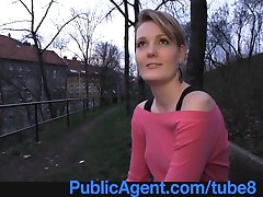 PublicAgent Meggie seetles for Sex for Cash behind the church