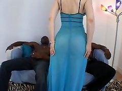 Superb Milf Interracial Threesome