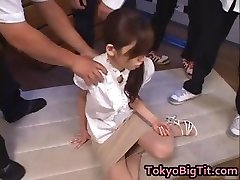 Chinese Milf Rina Tomoa Gets Sprayed part2