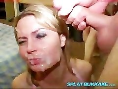 Alexis May's cumshot mass ejaculation party