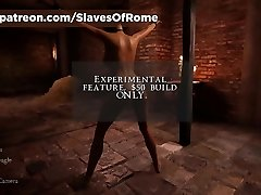 Slaves Of Rome Game - In-Game Punishment Sequence - Whipping
