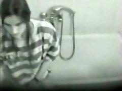 Hidden cam. My girlfriend masturbating in shower