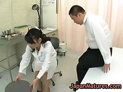 Nurse natsumi kitahara gets her snatch