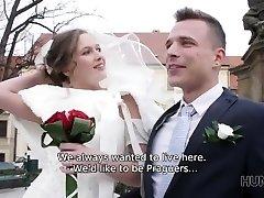 hunt4k. ste na poroki že fukali nevesto? da