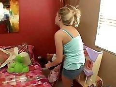 Teenie Babysitter Gets Fucked