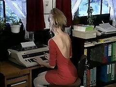 Debbie, steaming office fuck
